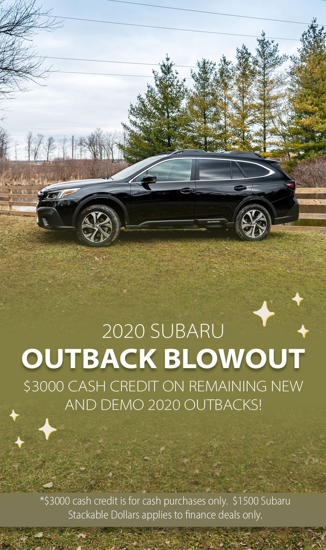 Outback blowout